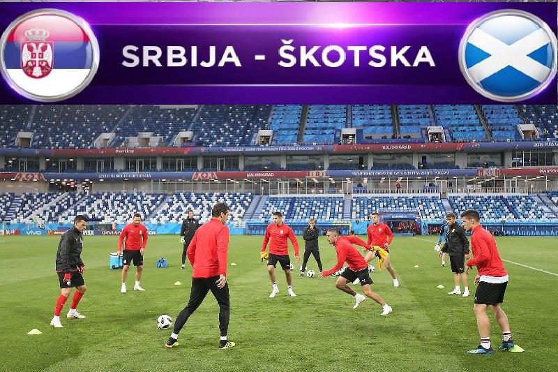 Srbija protiv Škotske za plasman na EURO