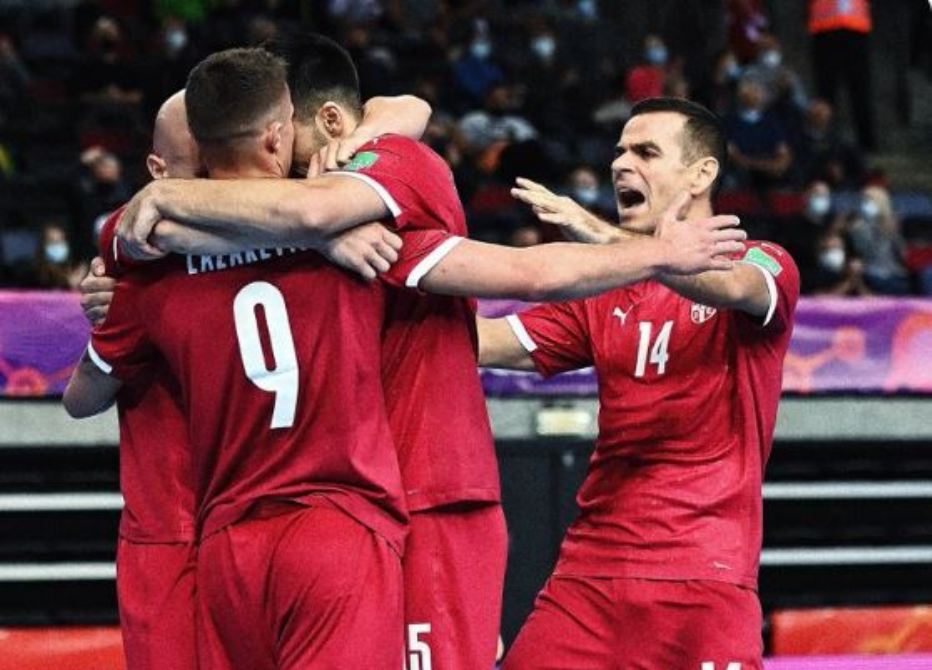 Futsaleri Srbije ubedljiivi protiv SAD, sledi Portugal