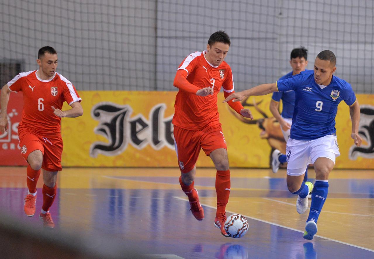 Futsaleri Srbije protiv Portugala za četvrtfinale SP