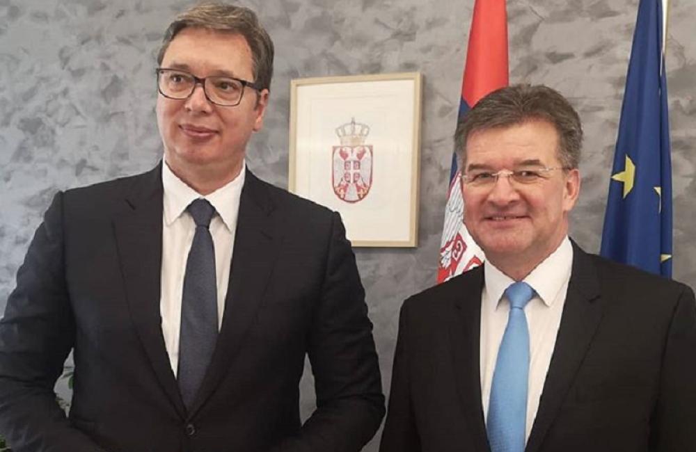 Vučić sutra u Beogradu sa Lajčakom
