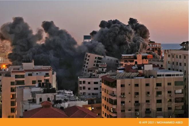 Pojas Gaze gori, zgrade sravnjene sa zemljom - Izrael i Palestina u krvavom sukobu