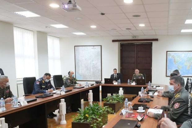 Stefanović posetio Generalštab