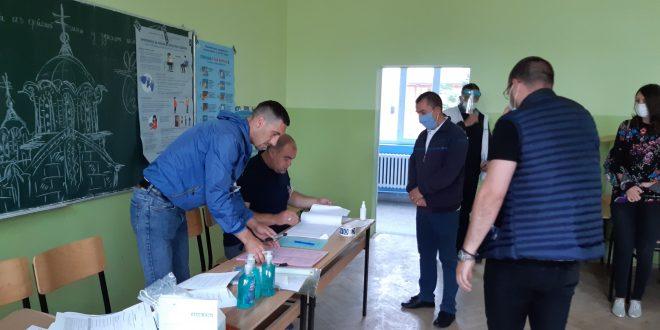 Izlaznost na teritoriji opštine Priština do 16 sati 31,42%