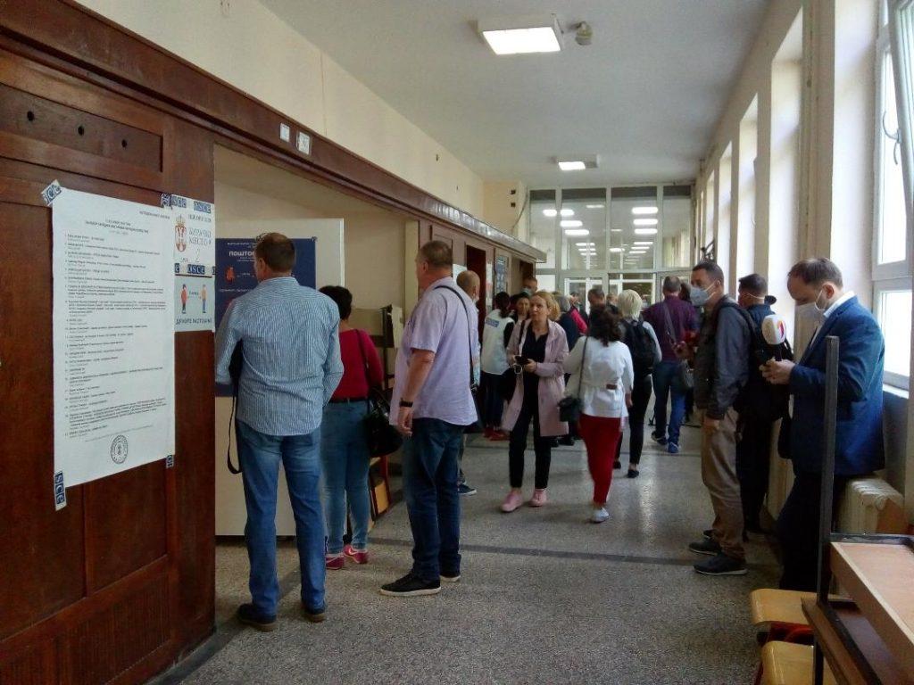 U opštini Severna Mitrovica do 11 časova glasalo 30,96 odsto birača