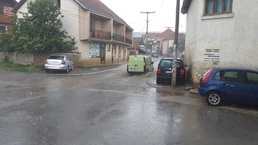 Olujno nevreme u okolini Gnjilana