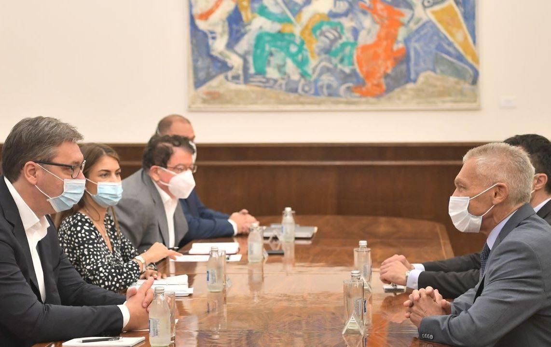 Vučić i Bocan-Harčenko o bilateralnim odnosima, dijalogu Beograda i Prištine