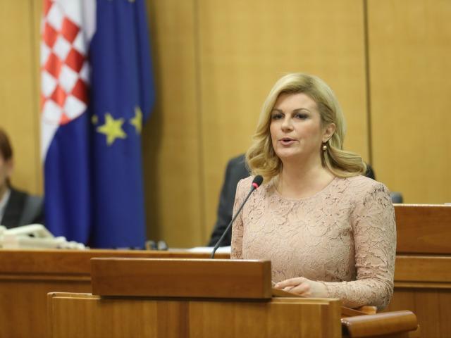 Kitarovićeva: Hrvatska granica postaće odbrana cele Evropske unije