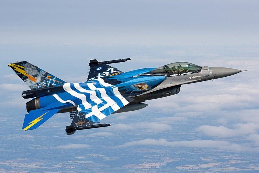 Grčki F-16 iznad Severne Makedonije, misija ispunjena