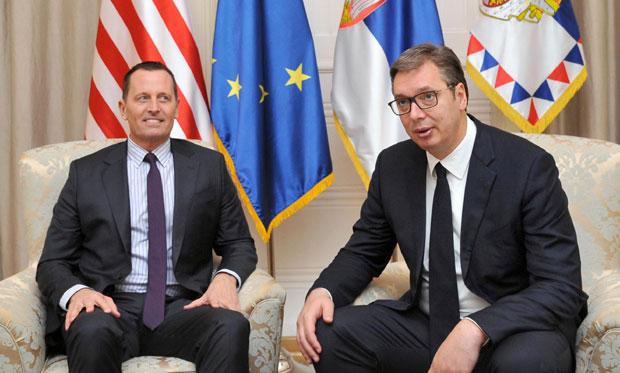Grenel: Hvala Vučiću na posvećenosti i prijateljstvu