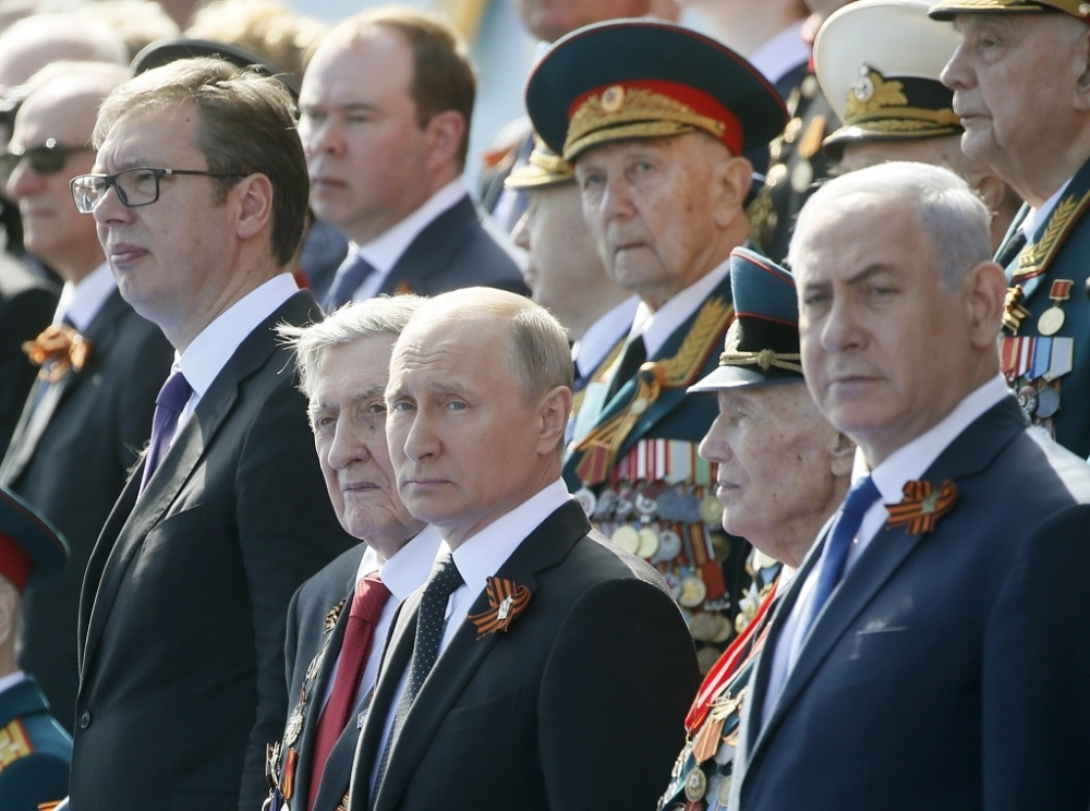 Vučić danas na Vojnoj paradi u Moskvi