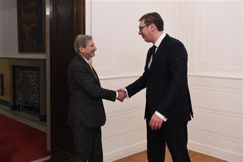 Han sa Vučićem o dijalogu Beograd - Priština