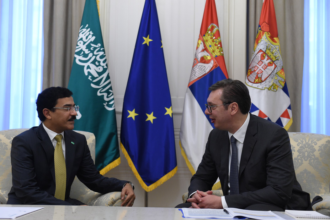 Vučić i Mominah za unapređenje ekonomske saradnje Srbije i Saudijske Arabije