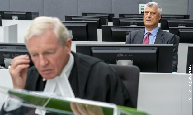 Tačija u Specijalnom sudu brani pet advokata