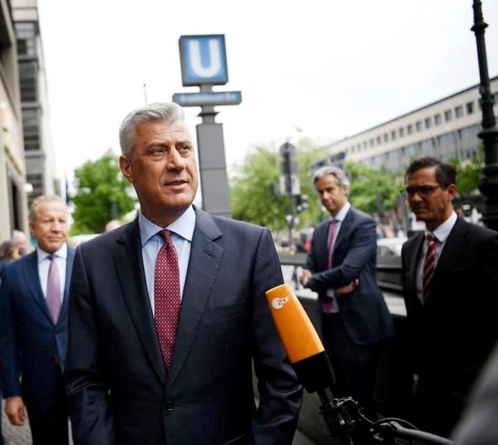 Tači preti novim merama ako Srbija nastavi