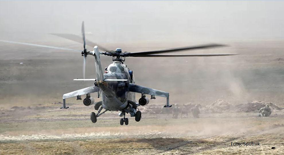 Ruski helikopter oboren u Jermeniji