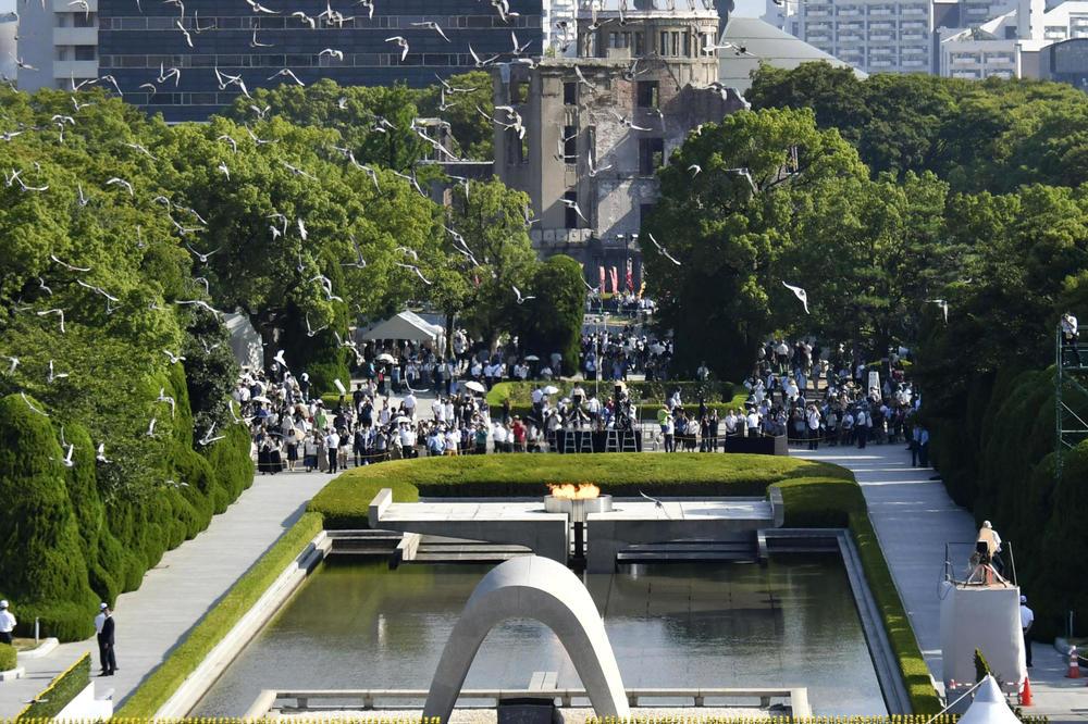 Obeleženo 75 godina od napada atomskom bombom u Hirošimi