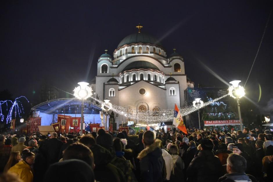 SPC poziva na moleban ispred Hrama Svetog Save 13. januara