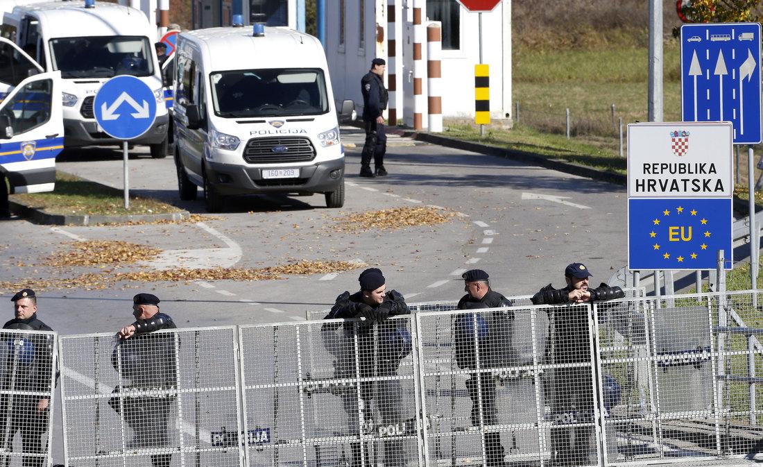 Hrvatska produžila stroge mere na granici do 15. januara