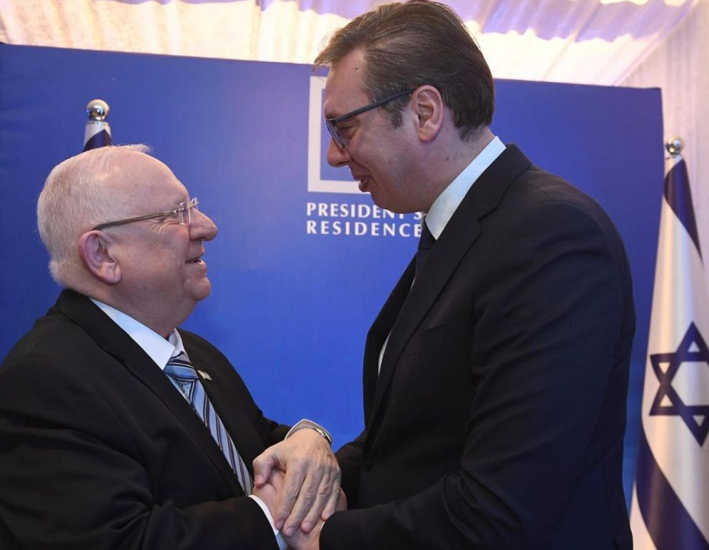 Vučić izrazio saučešće izraelskom predsedniku Rivlinu