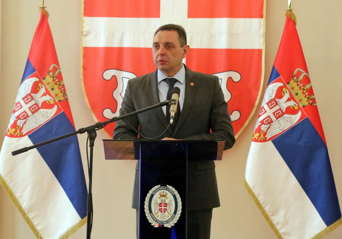 Vulin: Srbija se ponosi pripadnicima sistema odbrane