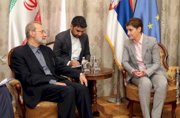 Brnabićeva sa šefovima četiri parlamentarne delegacije u okviru IPU