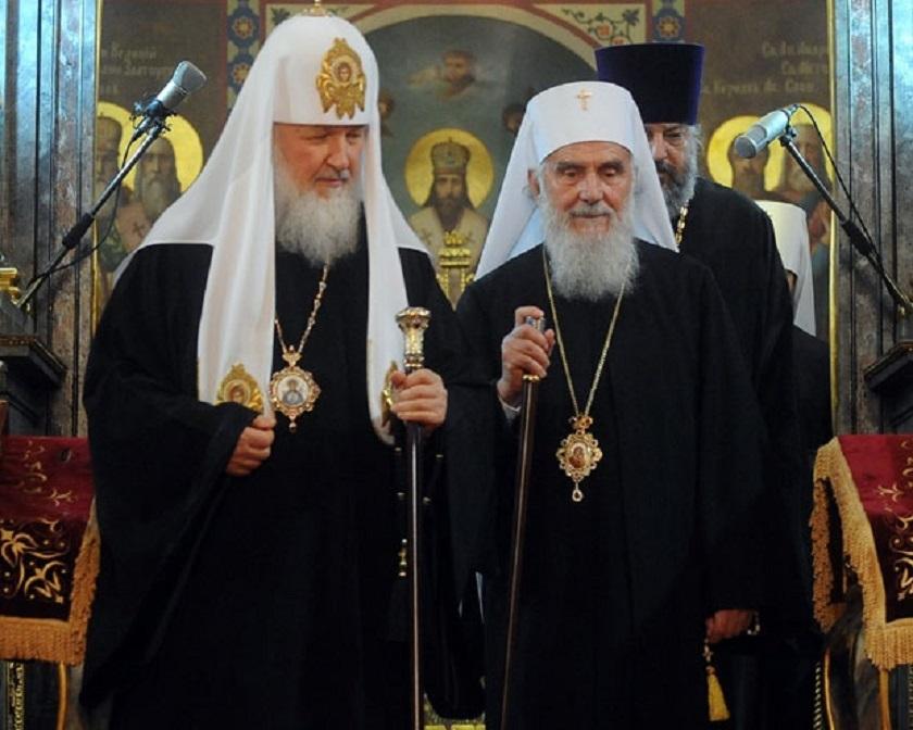 Čestitka patrijarha Kirila patrijarhu Irineju