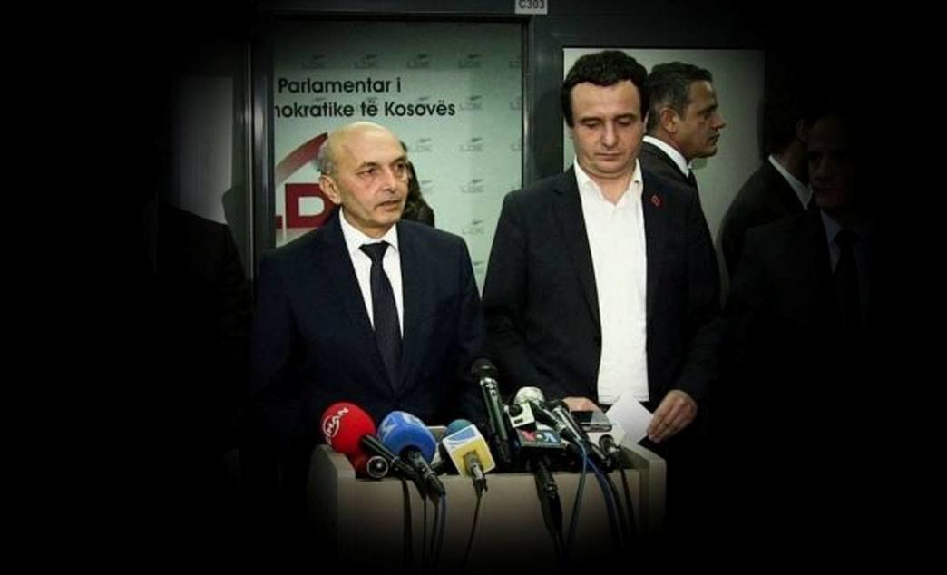 Mustafa: O vladajućoj koaliciji razgovaram samo sa Kurtijem