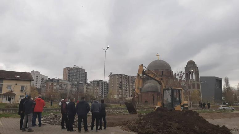 Posmrtni ostaci u Prištini nisu pronađeni, iskopvanje se nastavlja u petak