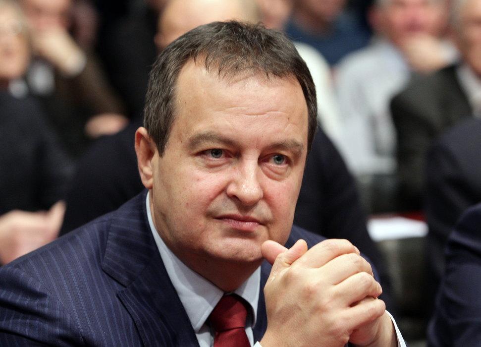 Dačić izjavio saučešće predsedniku francuske Skupštine