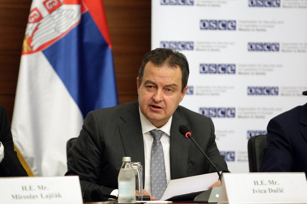 Dačić: Potezi Prištine prete da destabilizuju region
