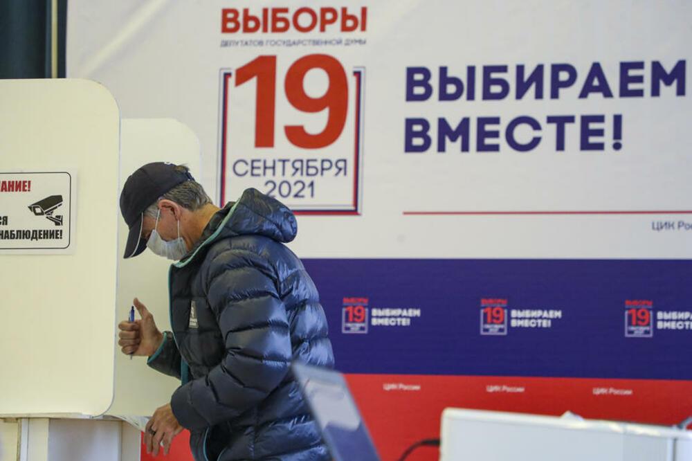 Izbori za Dumu: Birališta u Rusiji se polako zatvaraju