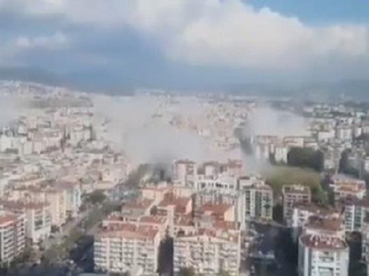 Snažan zemljotres kod Izmira, osetio se u Atini i Istanbulu