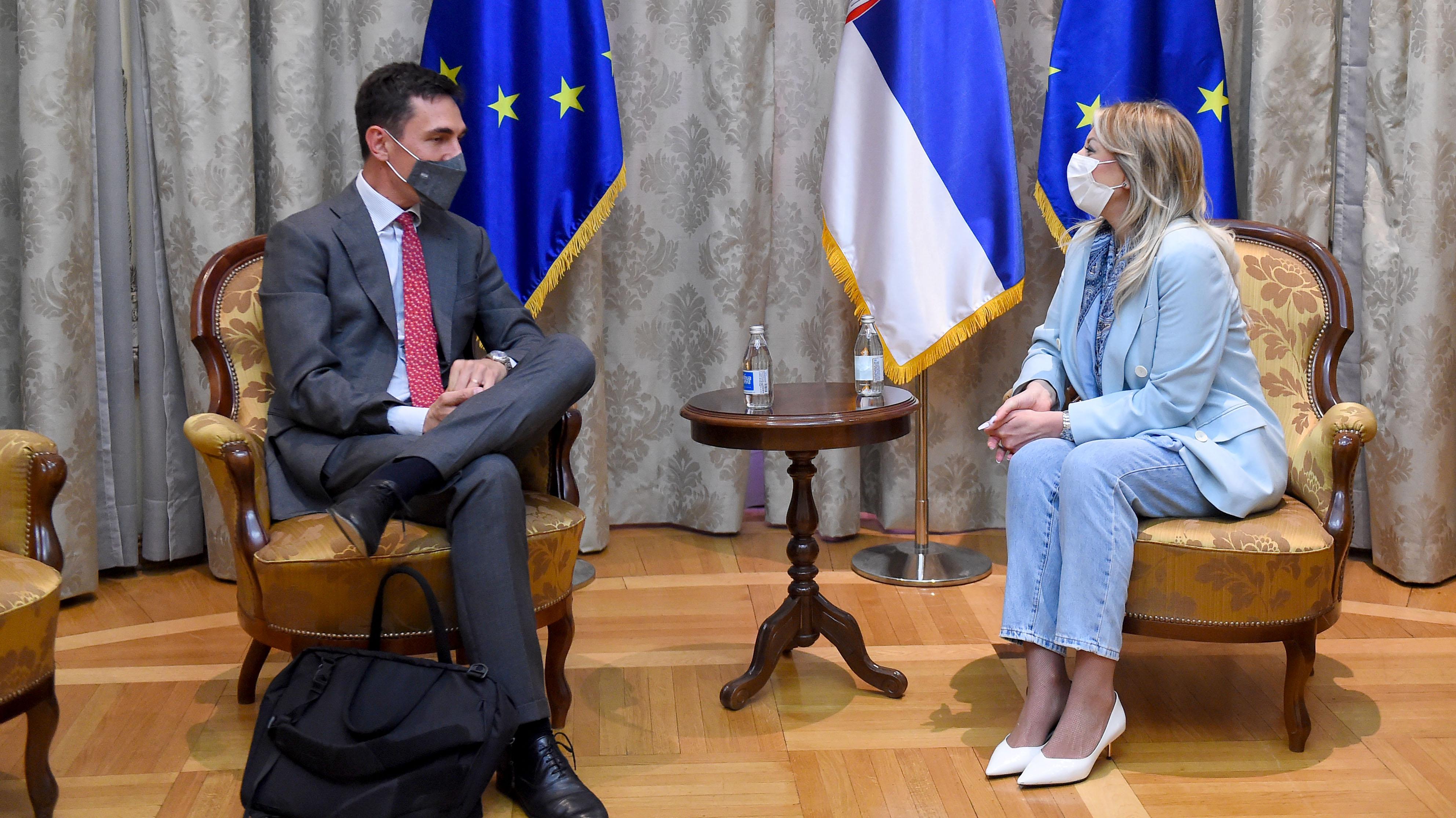 Joksimović: Saradnja Srbije i EIB na Agendi povezivanja Zapadnog Balkana
