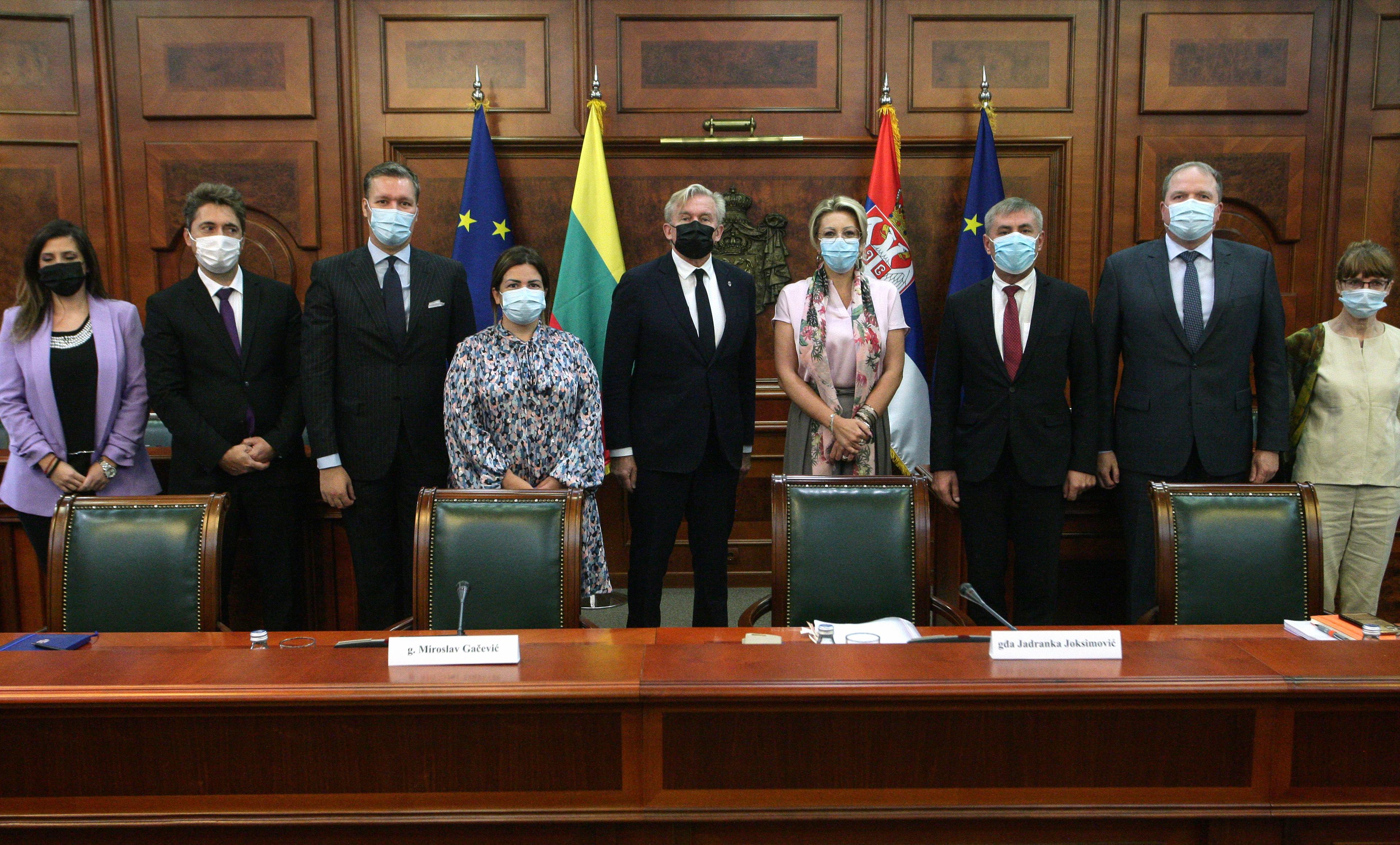 Joksimović s litvanskim parlamentarcima: EU cilj Srbije