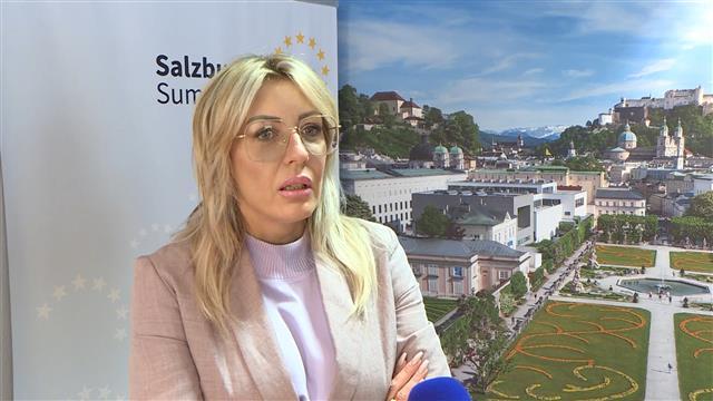 Joksimović sa Hanom - Srbija na dobrom putu, nastaviti reforme