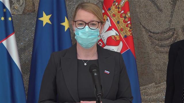 Jaklič: Slovenija podržava Srbiju na putu ka EU