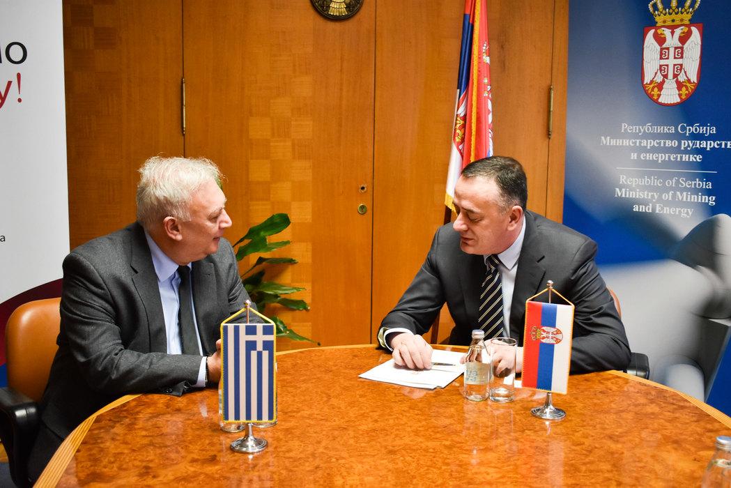 Antić: Srbiji važna gasna konekcija sa Grčkom