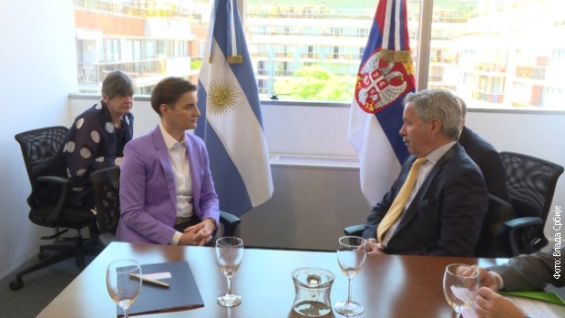 Argentina neće menjati stav o Kosovu