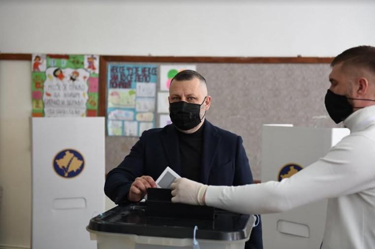 Dalibor Jevtić glasao u Štrpcu