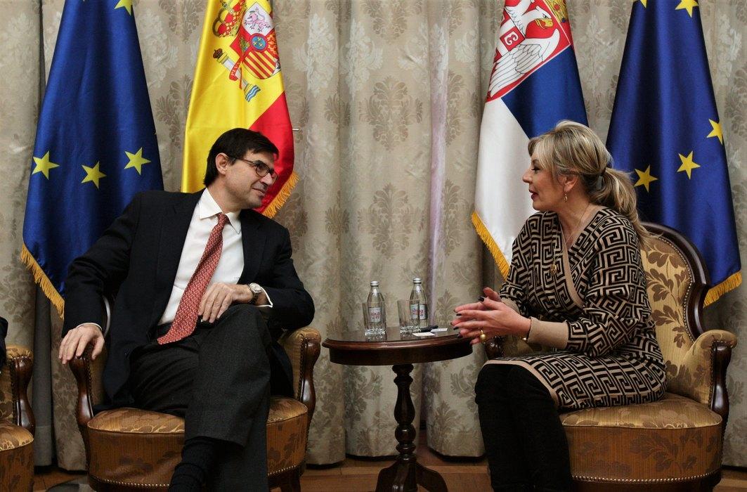 Španija iskreno podržava evropsku budućnost Srbije