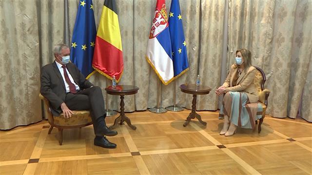 Joksimović i Adam: Važno da EU i Srbija pokažu više entuzijazma