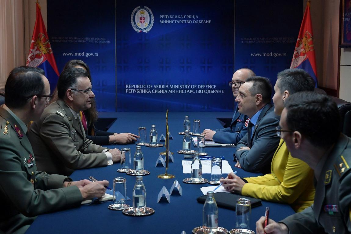 Vulin sa novim šefom NATO kancelarije za vezu u Beogradu