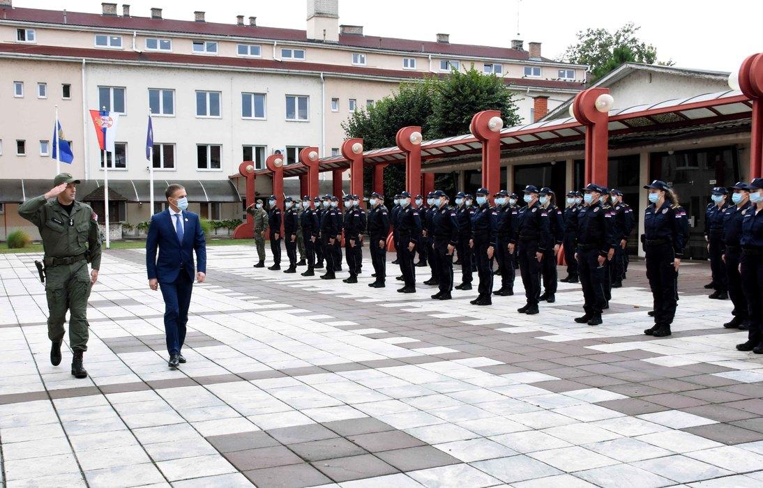 Stefanović pozdravio novu generaciju studenata Kriminalističko-policijskog univerziteta