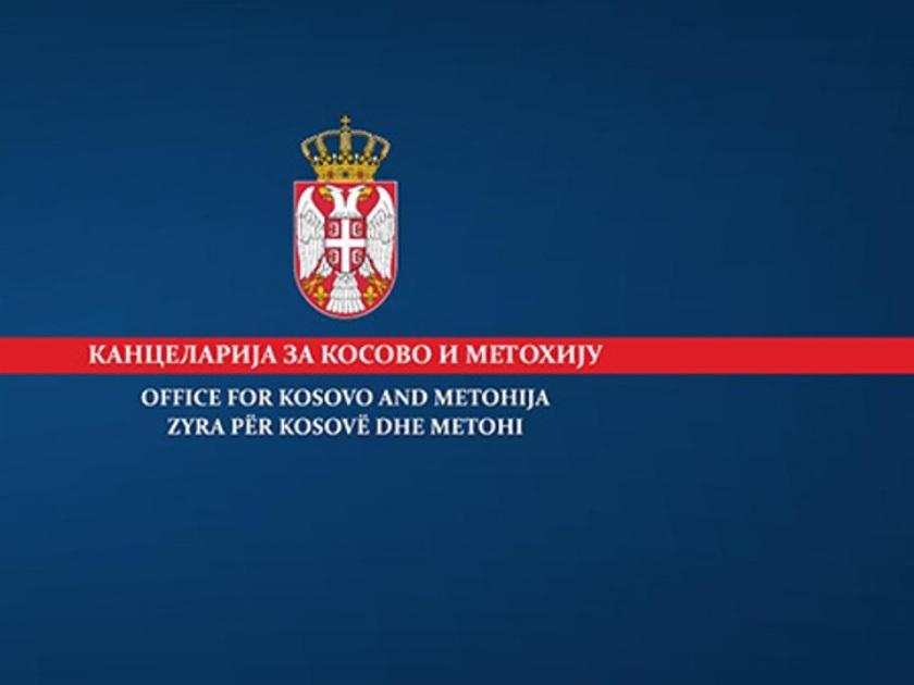 Kancelarija za KiM izražava ogromnu zabrinutost zbog incidenta u opštini Gora