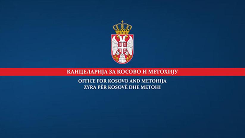 Kancelarija za KiM: Na samoproglašenom Kosovu se stvara klima segregacije, pravne nesigurnosti i nasilja