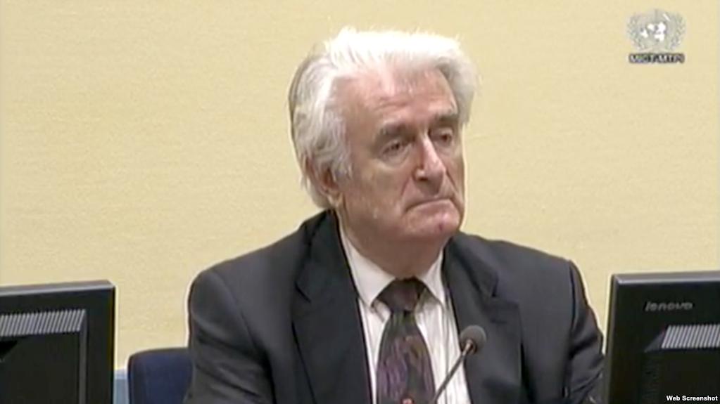Hag zabranio uživo prenos presude Karadžiću
