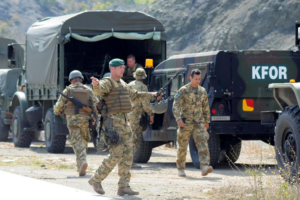 Albanija prvi put šalje komandne snage na Kosovo i Metohiju