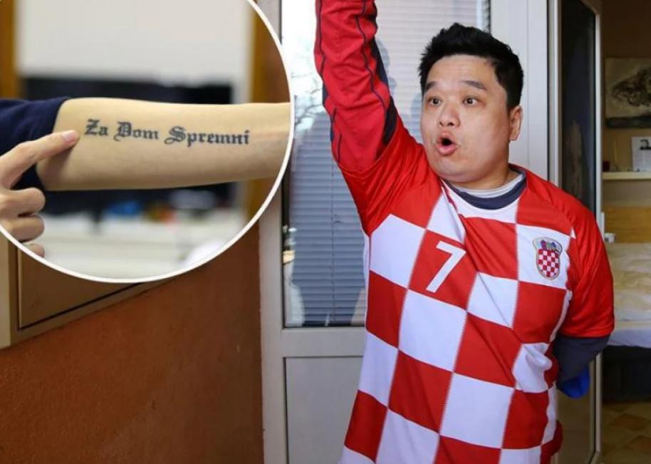 Hrvati proteruju Kineza zbog pevanja ustaških pesama