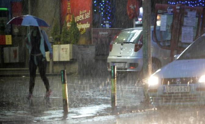 Kiša otežava saobraćaj na putevima širom Srbije