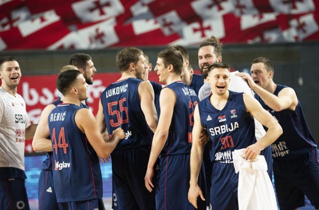 Košarkaši Srbije pobedili Švajcarsku za kraj kvalifikacija